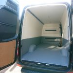 Mercedes Sprinter bedrijfswagen polyurea coating