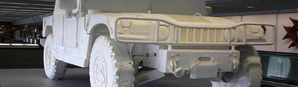 kunststof coating polyurea REPLICA eps piepschuim