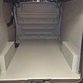 kunststof coating bedrijfswagen