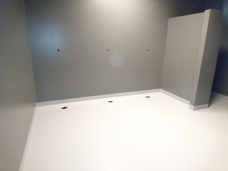 Waterdichte Coating Badkamer : Badkamer coating voor sportschoolketen poly u